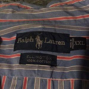 Ralph Lauren XXL Burton down shirt EUC